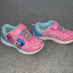 Shimmer and shine kids sneakers (girls) size 11